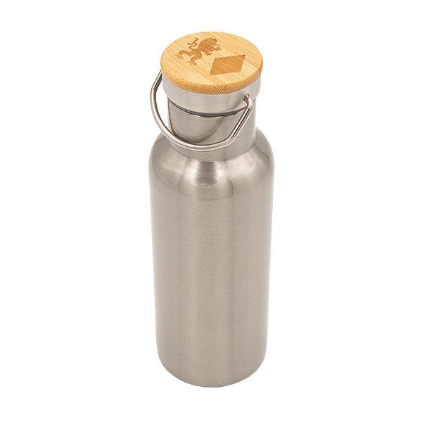 """Vakuum Trinkflasche """"Löwe und Raute"""""""