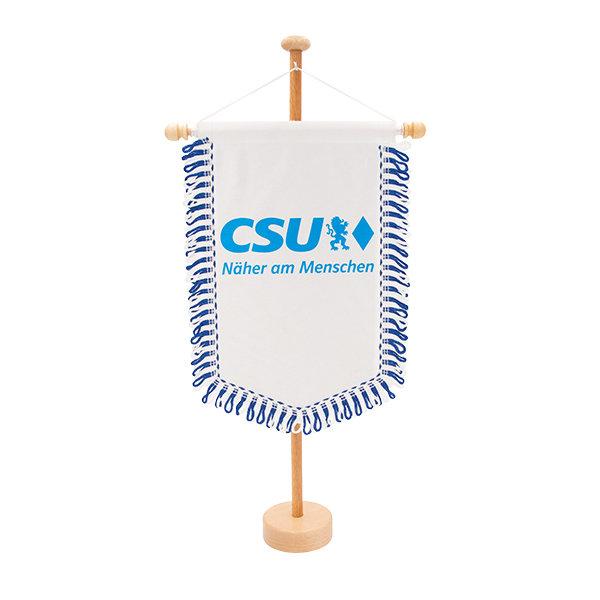 CSU-Tischwimpel