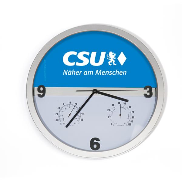 CSU-Wanduhr