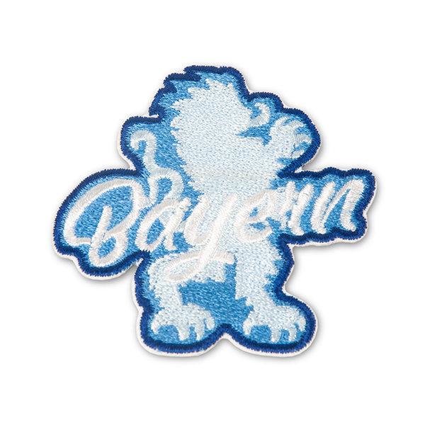 Sticker Löwe und Bayern (Klettband)