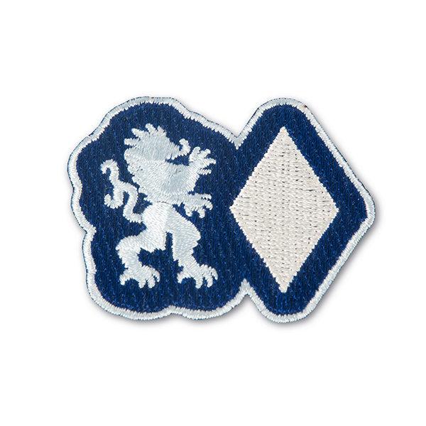 Sticker Löwe und Raute (Klettband)