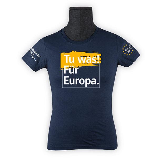 """T-Shirt Herren """"Tu was! Für Europa"""""""