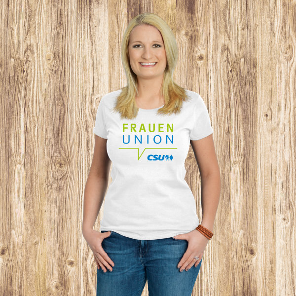 Damen T-Shirt, Fruit of the Loom - Frauen-Union