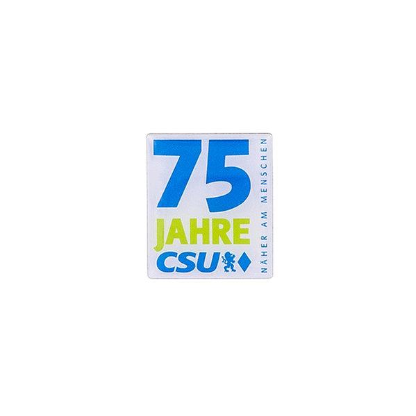 Anstecknadel 75 Jahre CSU