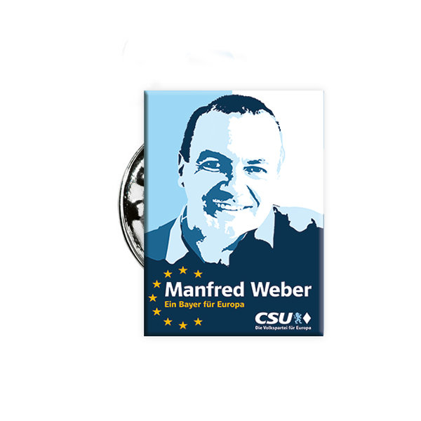 "Pin ""Manfred Weber"""