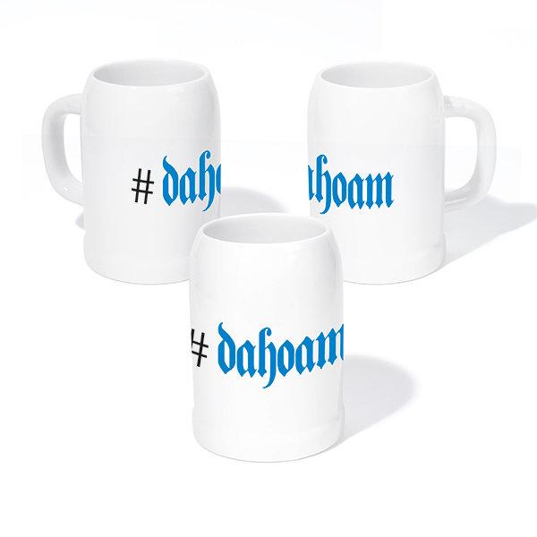 """Steinkrug """"#dahoam"""""""