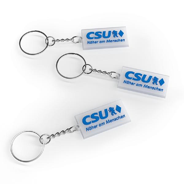 CSU-Schlüsselanhänger