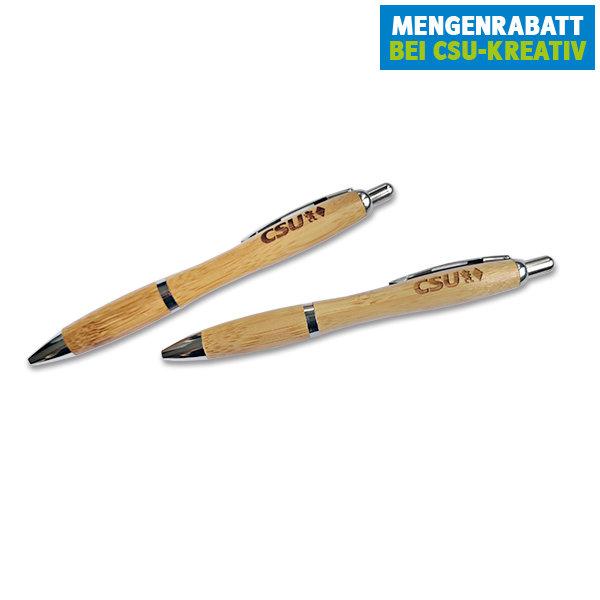 CSU-Kugelschreiber aus Bambus