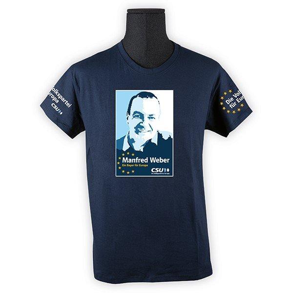 T-Shirt Herren Manfred Weber