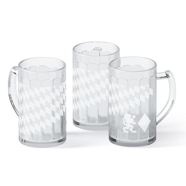 Glasseidel Löwe + Raute 0,5 l