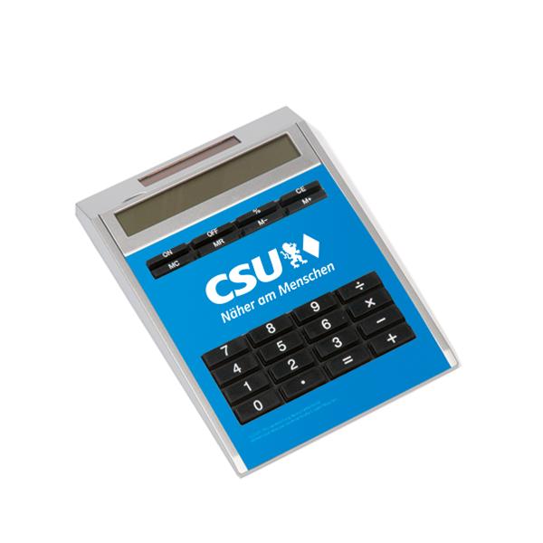 CSU-Taschenrechner (12 x 2,1 x 16,5 cm)