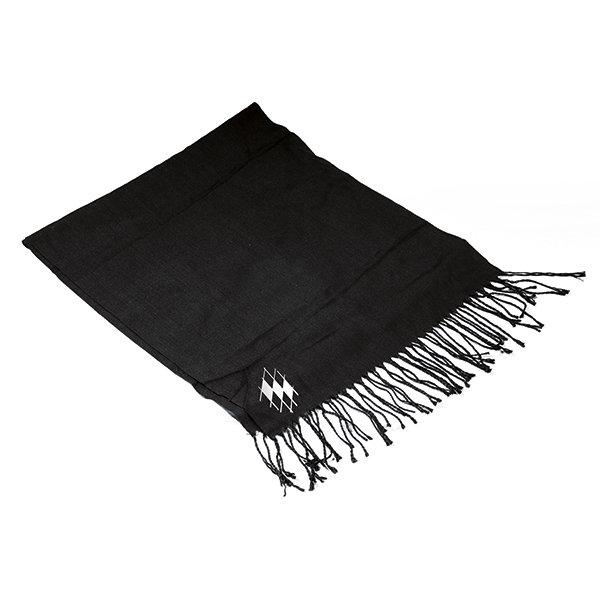 Schal mit bayerischer Raute-Schwarz
